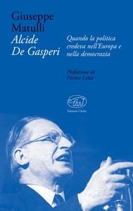Alcide De Gasperi - copertina