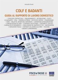 Colf e badanti: guida al rapporto di lavoro domestico - copertina