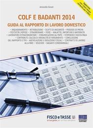 Colf e badanti 2014: guida al rapporto di lavoro domestico - copertina