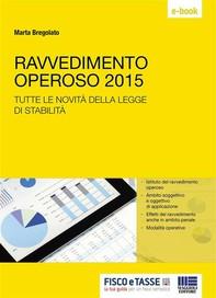 Ravvedimento operoso 2015 - Librerie.coop