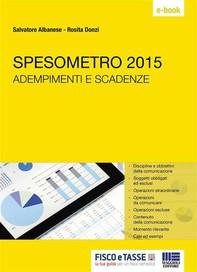 Spesometro 2015 - Librerie.coop