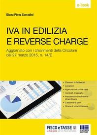 Iva in edilizia e reverse charge - Librerie.coop