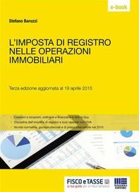 L'imposta di registro nelle operazioni immobiliari - Librerie.coop