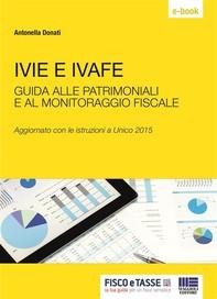 Ivie e Ivafe - patrimoniali e monitoraggio fiscale - Librerie.coop