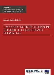 Accordo ristrutturazione debiti e concordato preventivo - copertina