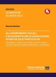 Adempimenti fiscali e dichiarativi delle ASD - copertina