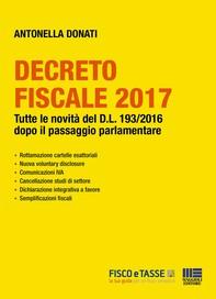 Decreto Fiscale 2017 - Librerie.coop