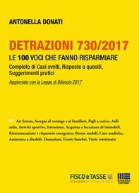 Detrazioni 730/2017 - Le 100 voci che fanno risparmiare - Librerie.coop