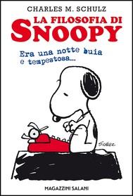 La filosofia di Snoopy - copertina