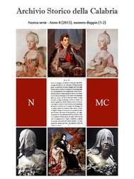 Archivio Storico della Calabria - Nuova Serie - Numero 5 - copertina
