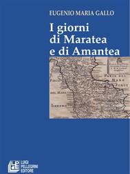 I Giorni di Maratea e di Amantea - copertina