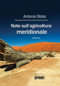 Note sull'agricoltura meridionale - Librerie.coop