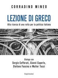Lezione di greco - copertina