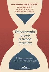 Psicoterapia breve a lungo termine - Librerie.coop