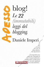 Adesso blog! - copertina