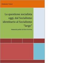 La questione socialista oggi - copertina