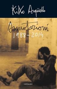 Annotazioni 1988 - 2014 - copertina
