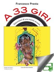 A 33 giri - Disturbi di una mente errante - copertina