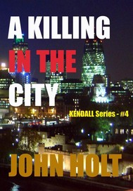 A killing in the city - copertina