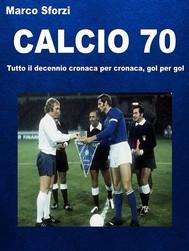 Calcio 70 - copertina