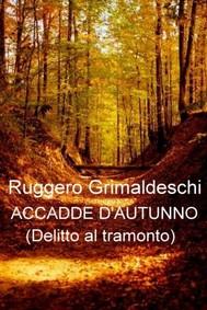 Accadde d'autunno - copertina