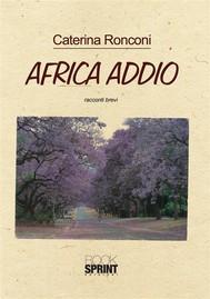 Africa addio - copertina