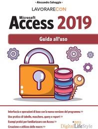 Lavorare con Microsoft Access 2019 - Librerie.coop
