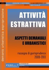 ATTIVITÀ ESTRATTIVA - Aspetti demaniali e urbanistici - copertina