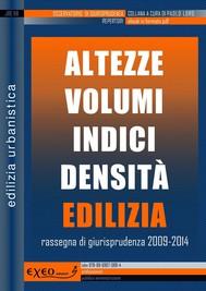 ALTEZZE VOLUMI INDICI DENSITÀ EDILIZIA - copertina