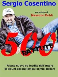 500 battute - copertina