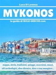 Mykonos - La guida di isole-greche.com - Librerie.coop