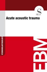 Acute Acoustic Trauma - copertina