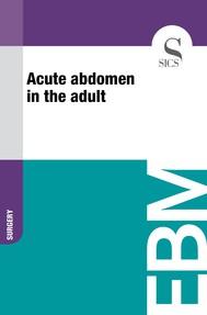 Acute Abdomen in the Adult - copertina