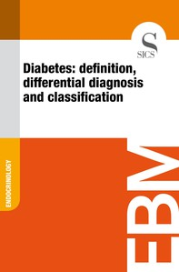 Diabetes: Definition, Differential Diagnosis and Classification - Librerie.coop