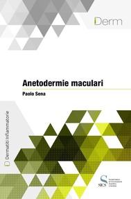 Anetodermie maculari - copertina