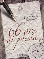 66 ore di poesia - copertina