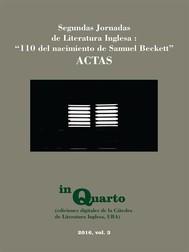 ACTAS: 110 del nacimiento de Samuel Beckett - copertina