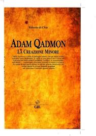 Adam Qadmon - copertina