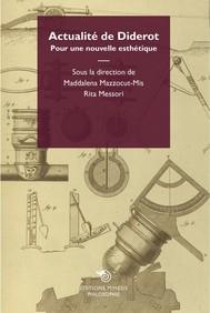 Actualité de Diderot - copertina