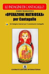 Operazione Matrioska Per Cantagallo - copertina