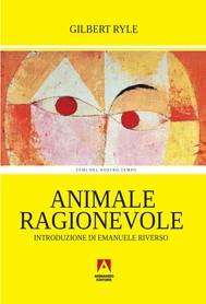 Animale ragionevole - copertina