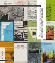 """Aldo Rossi, la storia di un libro. """"L'architettura della città"""", dal 1966 ad oggi - copertina"""
