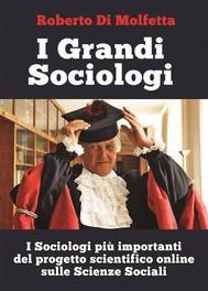 I Grandi Sociologi - copertina