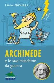 Archimede e le sue macchine da guerra - copertina