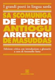 Sa scomuniga de predi Antiogu arrettori de Masuddas - copertina