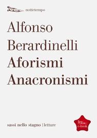 Aforismi Anacronismi - copertina