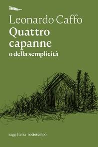 Quattro capanne - Librerie.coop