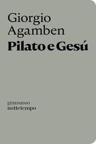 Pilato e Gesú - Librerie.coop