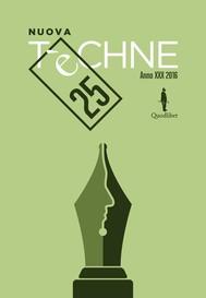 Nuova Tèchne n. 25 - copertina