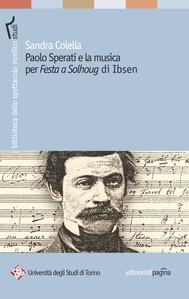 Paolo Sperati e la musica per «Festa a Solhoug» di Ibsen - copertina